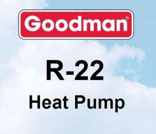 ton Goodman R22 GSH13 Heat Pump Condenser GSH130301