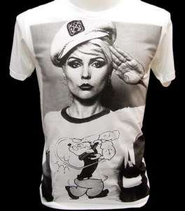 BLONDIE PoPEye Sailor 80s Indie VTG Punk Rock T Shirt S