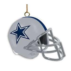 NFL   Dallas Cowboys Helmet Ornament 3 Pack Sports Fan