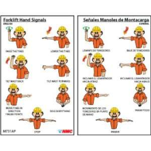 WALLET CARDS FORKLIFT HAND SIGNALS BILINGUAL: Home