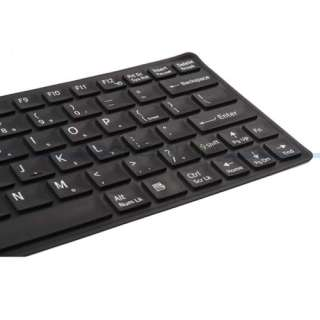 Keyboard Skin Cover Protector Sony VAIO W series Black