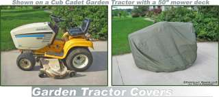 NEW WATERPROOF RIDING LAWN MOWER GARDEN TRACTOR COVER 813709010672