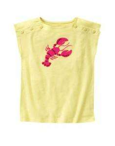 NWT Gymboree Cape Cod Cutie Lobster Tee sizes 4 7 8 12