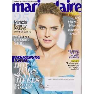 Marie Claire April 2010 Heidi Klum (Vol 17 Issue 4) Marie