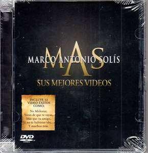 MARCO ANTONIO SOLIS SUS MEJORES VIDEOS DVD
