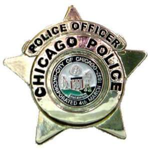 Chicago Police Badge Lapel pin Tie button: Everything Else