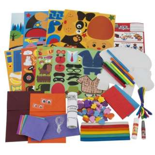Made by Me Junior Ultimate Box of Projects, Children Craft Kit, Made