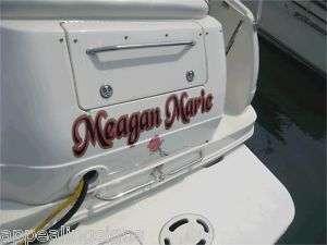 Custom Boat Name Vinyl Lettering Decal Sticker 2 Shadow