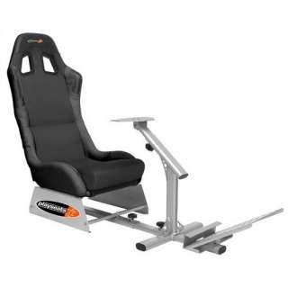 Playseats Evolution Game Chair in Black and Silver Kids