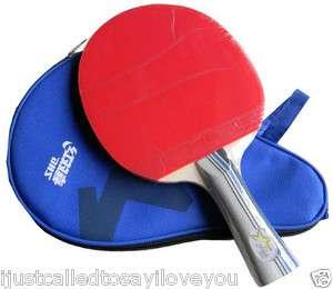 2002 Table Tennis Paddle Racket Bat Shakehand Long Ping Pong