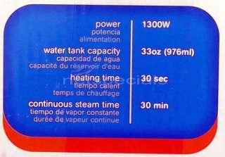 New Portable Steam Cleaner Handheld Steamer Sanitizer Nozzle & Brushes