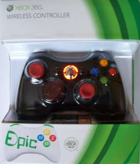 Xbox 360 Stealth Mod Rapid Fire Black Controller New