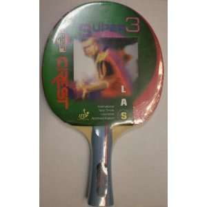 New Crest Super 3 Ping Pong Paddle Table Tennis Racket