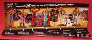 MATTEL WWE ECW REY MYSTERIO COLLECTION 1995 2005 NIB