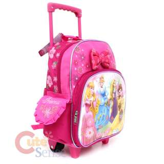 Disney Princess Tangeld School Roller Backpack Rolling Bag 3