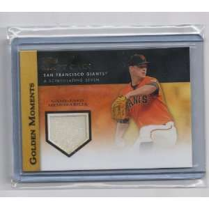 Matt Cain Golden Moments Game Used Jersey Card   San Francisco Giants