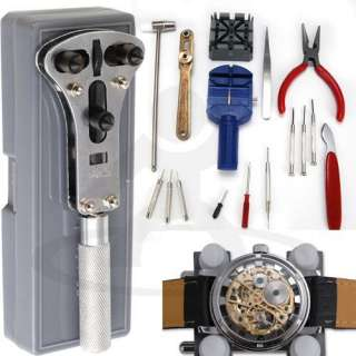 Youre bidding on 18 x New DIY Tool …Watch Repair Maintain Tools Set