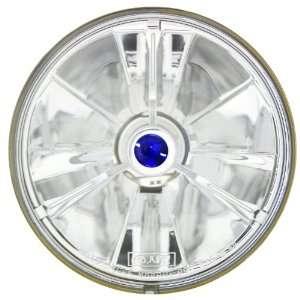 Adjure T50703 5 3/4 Pie Cut Blue Dot Tri Bar Motorcycle