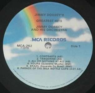 Rare Jazz LP Signed by Helen OConnell Jimmy Dorsey Sylvania MCA 252