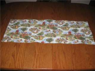 Handcrafted quilted Table Runner Mother Goose Nursery Rhyme