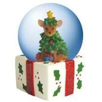 Snow Globes   CHRISTMAS TREE 45MM WG