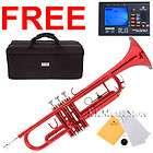 Mendini Bb Trumpet Gold Silver Black Blue Purple Red items in KK Music
