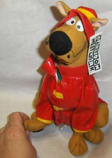 Cartoon Network Scooby Doo TV Great Dane Dog 10 Toy Plush in Rain