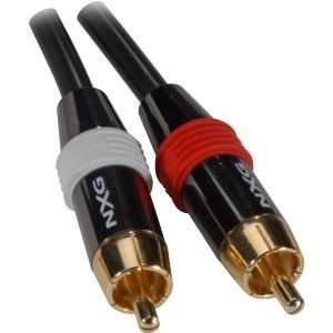 4 meter Black Pearl Series Professional Stereo Audio Cable