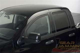 2002 08 DODGE RAM QUADCAB IN CHANNEL WINDOW VENT VISORS