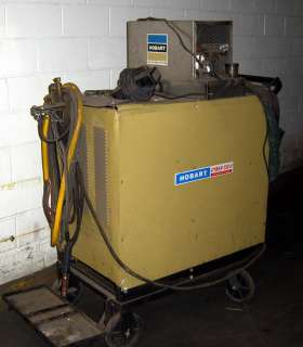 HOBART CYBER TIG 500 Amp Solid State Arc Welder, Click to view larger
