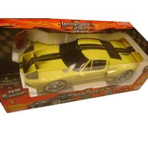 Scale Radio Remote Control Yellow 2005 Ford GT RC Car Toys & Games